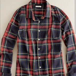 Perfect shirt in tartan plaid from Jcrew retail